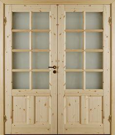 Atle 5 SP10+SP10 - Interior door Made by GK Door, Glommersträsk, Sweden.