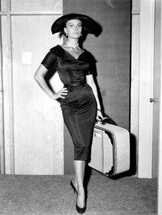Sophia Loren - inspiratie voor onze secretary pencil dress