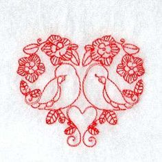 Free Embroidery Design: Birds