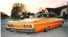 1964 Chevrolet Impala, I hear fantastic voyage playing in my head right now..