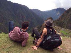 Harry in Machu Picchu, Peru 4.28.14