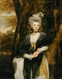 1781-1782 Lady Frances Finch by Sir Joshua Reynolds