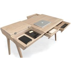 WeWOOD METIS Desk (277,260 PHP) ❤ liked on Polyvore featuring home, furniture, desks, compact desk, storage desk, home storage furniture, storage furniture and wewood