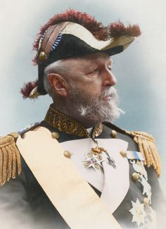 Oscar II, King of Sweden and Norway, year 1880.