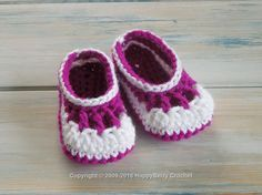 Baby Babble Booties Free Crochet Pattern US Terms