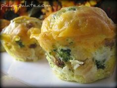 Broccoli Cheddar & Sausage Egg Muffin Pull-A-Parts