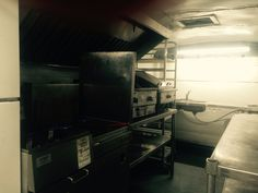 Inside view of one of our foodtruck