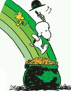 Snoopy St. Patrick Day Wallpaper | St. Patrick's Day, Snoopy, Woodstock