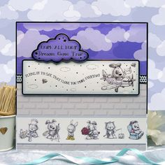 Smudge & Mitten (And Rascal Too) | Hunkydory Crafts