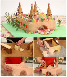 Fantasy Castle Cake - Like us on Facebook https://www.facebook.com/TheWHOot1