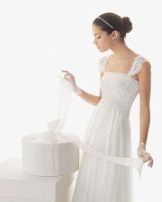 Selección de vestidos para una novia embarazada - Yahoo! Tendencias España