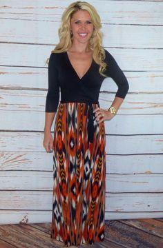 Albuquerque Maxi dress