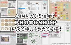 All About Photoshop Layer Styles by Marisa Lerin Adobe Photoshop, Learn Photoshop, Photoshop Design, Photoshop Elements, Photoshop Tutorial, Advanced Photoshop, Photoshop Actions, Photography Software, Photography Lessons