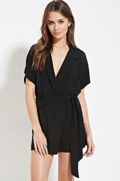 Contemporary Surplice Romper | FOREVER 21 created by #ShoppingIS