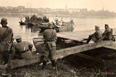 Most Fordoński im. Rudolfa Modrzejewskiego (Weichselbrücke), Bydgoszcz - 1940 rok, stare zdjęcia
