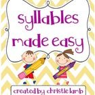 This packet it loaded with creative and fun center ideas/activities to teach or review syllables!  It includes:* Cheering for Syllables {counti...