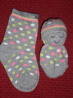 Sweet sock doll craft-ideas