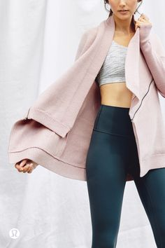 The Wrap It Up Sweater—Merino wool you can toss in the washing machine. Yes, you read that right..