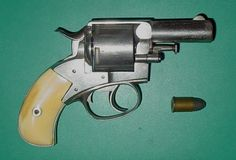 Webley British Bulldog, 450 Ely caliber, made in 1872, Ivory grips, I picked it up last weekend