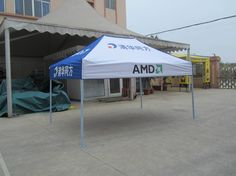 Screen Printing iron Frame Promotional Tent 2x3m