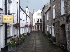 Kirkby Lonsdale in Cumbria. Love it here, and The Sun Inn is a favourite for weekends away.