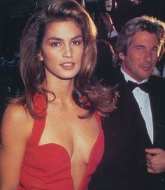 Cindy Crawford and Richard Gere Cindy Crawford, Richard Gere, Ellen Von Unwerth, Tim Walker, 1990 Style, Kiko Mizuhara, Original Supermodels, Magazine Mode, 90s Models