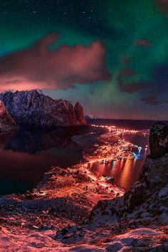 Port Of Reine | Norway by Max Rive