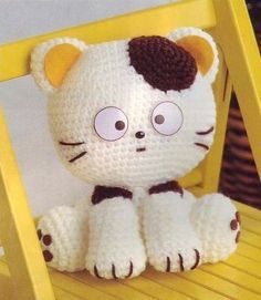 котенок амигуруми-ОПИСАНИЕ!