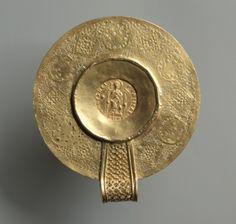 Pendant with Double Solidus of Pulcheria, 5th century                                       Eastern Roman Empire, 5th century               ...