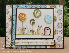 furry folk - Stampin' Up