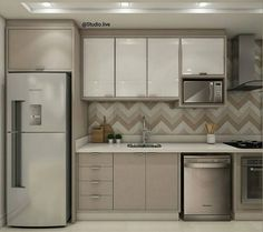 Cozinha planejada k nails fall river - Fall Nails Small Apartment Kitchen, Condo Kitchen, Modern Kitchen Cabinets, Home Decor Kitchen, Home Kitchens, Kitchen Remodel, Kitchen Backsplash, Kitchen Room Design, Kitchen Layout
