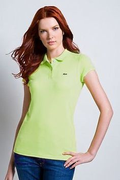 ralph lauren paris! Grossiste Polo Lacoste Femmes revers court T Shirt jaune  paris pas cher b53b10374e2