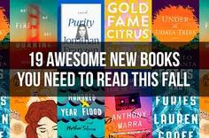 19 Awesome New Books You Need To Read This Fall