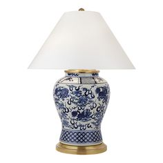 Foo Dog Medium Table Lamp - Blue & White - Table Lamps - Lighting - Products - Ralph Lauren Home - RalphLaurenHome.com