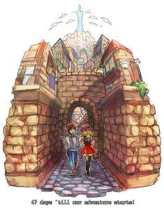Pokemon X & Y Serena and Calem
