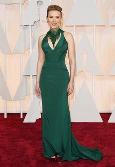 The 2015 Oscars red carpet dresses: Scar Jo