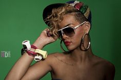 Rihanna Wears Baby G In Her Rude Boy Video Rhianna Hairstyles New