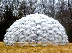 Pneuhaus' temporary Bubble Dome is made from hundreds of TPU balls | Inhabitat - Sustainable Design Innovation, Eco Architecture, Green Building