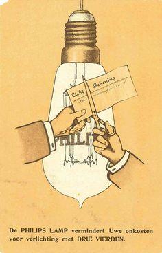 De Philips lamp vermindert uwe onkosten