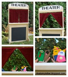 A DIY tutorial to build a kids play stand.