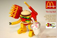 If #LEGO had a McDonald's Hamburger...