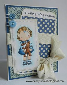 Another sweet Pure Innocence card by Nancy Thomas