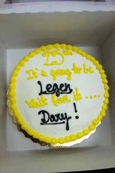 How I met your mother cake. I will be needing this for my birthday one year!