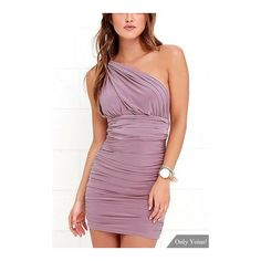 Yoins Sexy Ruched Convertible Dress (2745 RSD) ❤ liked on Polyvore featuring dresses, purple wrap dress, sexy purple dresses, convertible wrap dress, purple tube dress and multiway dress