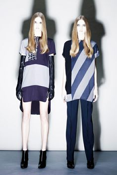 Costume National (left) - Pre-Fall 2013