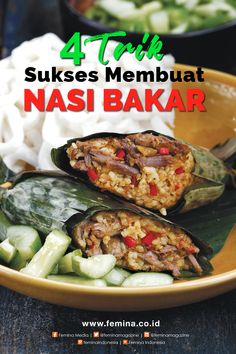 Clean Recipes, Rice Recipes, Squid Recipes, Food N, Food And Drink, Nasi Bakar, Cooking Tips, Cooking Recipes, Indonesian Cuisine