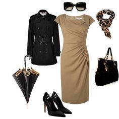 Dressy work attire, created by MShutt on Polyvore
