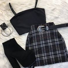 Cute outfit idea to copy ♥ For more inspiration join our group Amazing Things ♥ You might also like these related products: - Blazers & Suit Jackets ->. Cute Casual Outfits, Edgy Outfits, Mode Outfits, Grunge Outfits, Pretty Outfits, Beautiful Outfits, Fall Outfits, Summer Outfits, Black Outfits