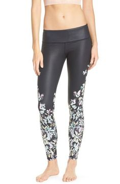 Alo 'Airbrushed' Glossy Leggings available at #Nordstrom