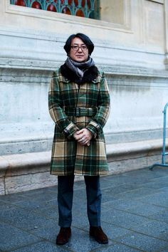 don't think twice about the next odd looking fall vintage coat you see